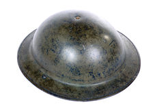 British ww2 military helmet Stock Photo