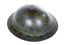 British ww2 military helmet Stock Photo
