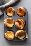British yorkshire pudding on a tray Stock Photography