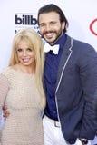 Britney Spears και Charlie Ebersol Στοκ Εικόνες