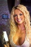 Britney Spears i Madama Tussauds av London fotografering för bildbyråer