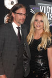 Britney Spears, Jason Trawick stockfotos