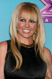 Britney Spears. LOS ANGELES - DEC 17: Britney Spears at the 'X Factor' Season Finale Press Conference at CBS Television City on December 17, 2012 in Los Angeles stock images