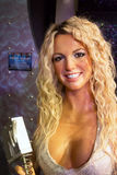 Britney Spears in Madama Tussauds von London stockbild