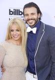 Britney Spears och Charlie Ebersol royaltyfria bilder