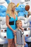 Britney Spears & Sean Federline arkivbilder