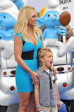 Britney Spears & Sean Federline Stock Images