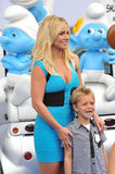 Britney Spears & Sean Federline Stock Photo