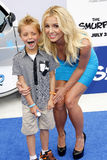 Britney Spears and Sean Federline Royalty Free Stock Photos