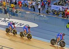 Brits Cirkelend Team Stock Foto's