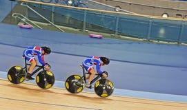 Brits Cirkelend Team Royalty-vrije Stock Afbeelding