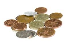 Brits geld stock afbeelding