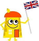 Brits huis vector illustratie