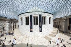 Brits museum in Londen Royalty-vrije Stock Afbeeldingen