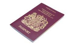 Brits Paspoort royalty-vrije stock fotografie