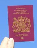 Brits Paspoort Royalty-vrije Stock Foto's