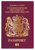 Brits paspoort Royalty-vrije Stock Afbeeldingen