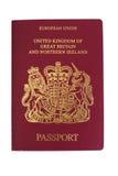 Brits paspoort Stock Afbeelding