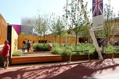 Brits paviljoen Milaan, Milaan Expo 2015 stock foto