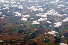 Brits platteland Royalty-vrije Stock Afbeeldingen