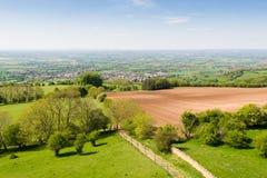 Brits platteland Stock Foto's