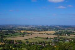 Brits platteland Royalty-vrije Stock Foto's