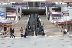 Brits Station Royalty-vrije Stock Fotografie