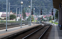 Brits Station Stock Foto's