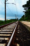 Brits Station Royalty-vrije Stock Foto's