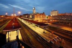 Brits Station Royalty-vrije Stock Afbeelding