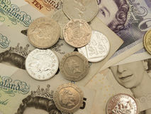 Brits Sterling Pounds Royalty-vrije Stock Afbeelding