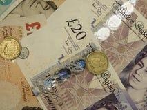 Brits Sterling Pounds Royalty-vrije Stock Foto
