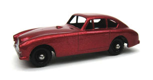 Brits Stuk speelgoed van een Britse Auto Royalty-vrije Stock Foto