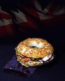 Brits Tikka-Ongezuurd broodje Royalty-vrije Stock Foto