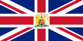 Brits wapenschild Stock Afbeeldingen