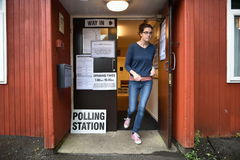 Britse Algemene verkiezingen Stock Afbeelding