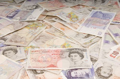 Britse Echte Achtergrond Stock Afbeeldingen