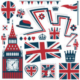 Britse elementen Royalty-vrije Stock Fotografie
