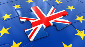 Britse Figuurzaag als deel van de EU Stock Afbeelding