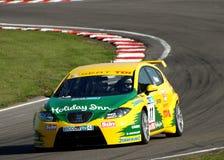 Britse het Reizen van het Team TDI van de zetel Auto Royalty-vrije Stock Foto's