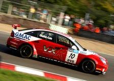 Britse het Reizen van Vectra van Vauxhall Auto Stock Foto
