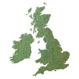 Britse kaart vector illustratie