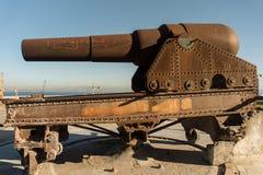 Britse kanonnen Royalty-vrije Stock Foto