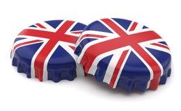 Britse kappen Stock Afbeeldingen