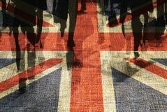 Britse klanten royalty-vrije illustratie
