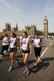 2013, Britse 10km Londen Marathon Stock Foto's