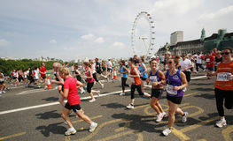 2013, Britse 10km Londen Marathon Royalty-vrije Stock Foto's