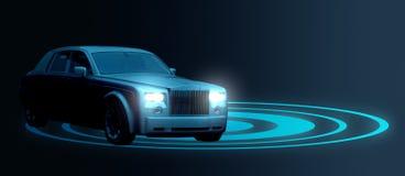 Britse luxeauto Royalty-vrije Stock Afbeeldingen