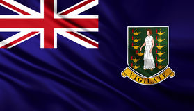 Britse Maagdelijke Eilanden het UK stock illustratie