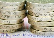 Britse munt royalty-vrije stock foto's